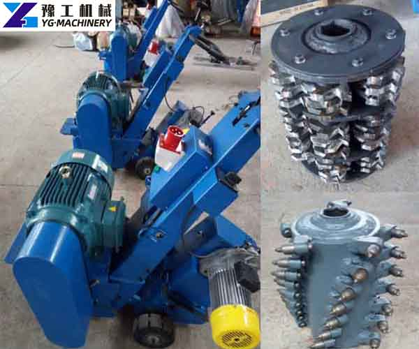 Small Asphalt Milling Machine Price
