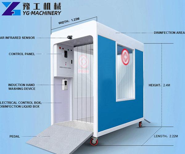 Disinfection Chamber Door