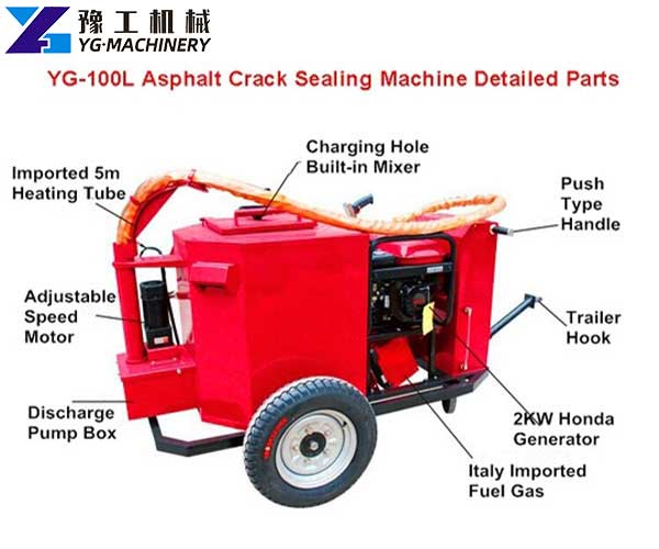 Asphalt Road Crack Sealing Machine