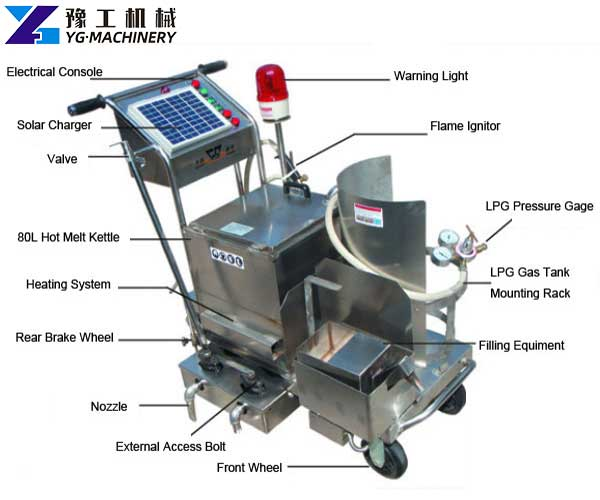 Crack Filling Machine