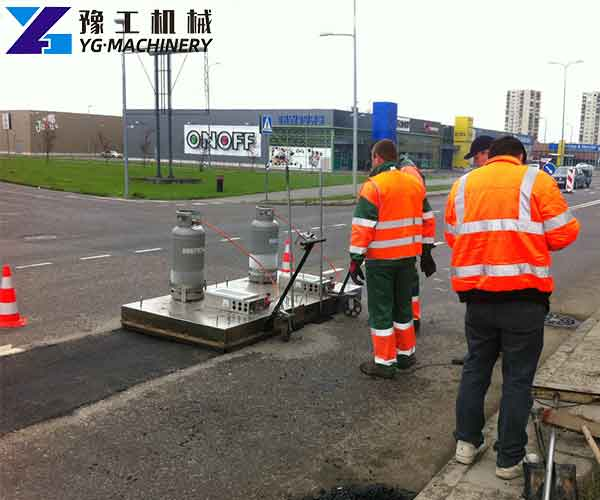 Infrared Heater for Asphalt