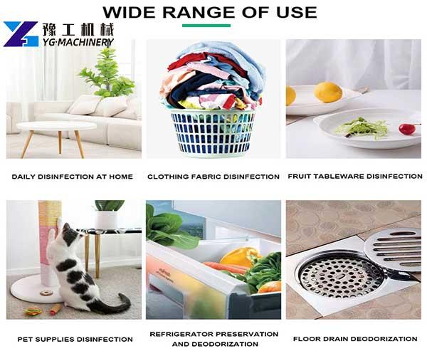 Range of Use