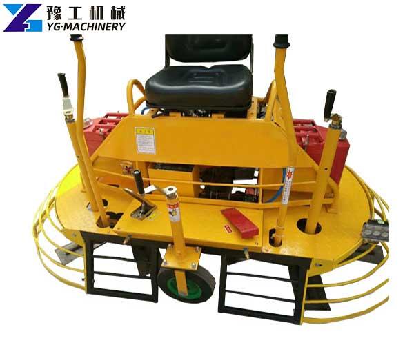 Ride-on Concrete Trowel Machine