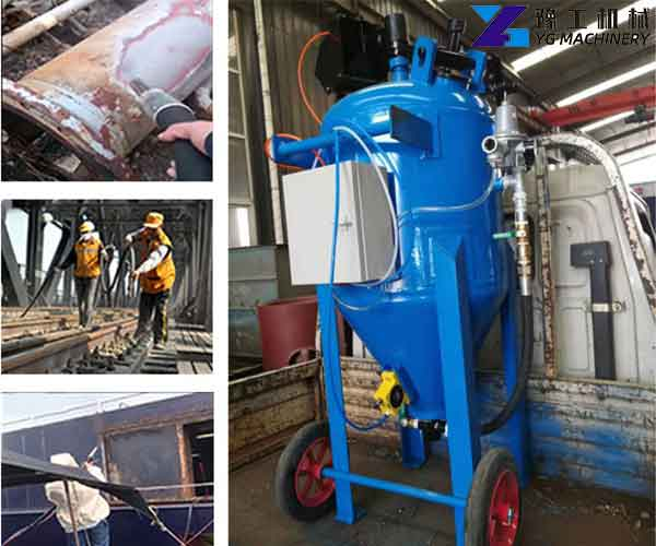 Industrial Sandblasting Equipment