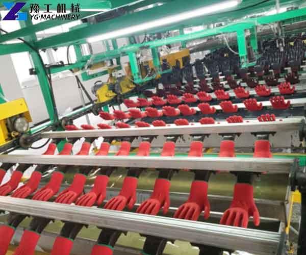 Latex Coated Cotton Gloves Machine