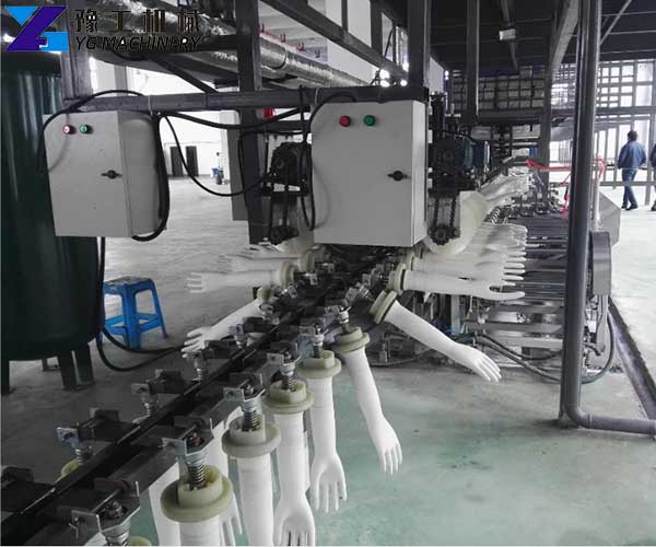 Latex Glove Making Machine