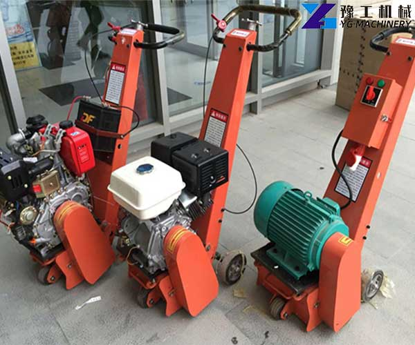 Small Asphalt Milling Machine