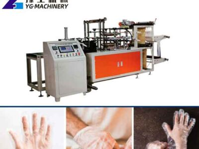 PE Glove Making Machines for Sale in Italy