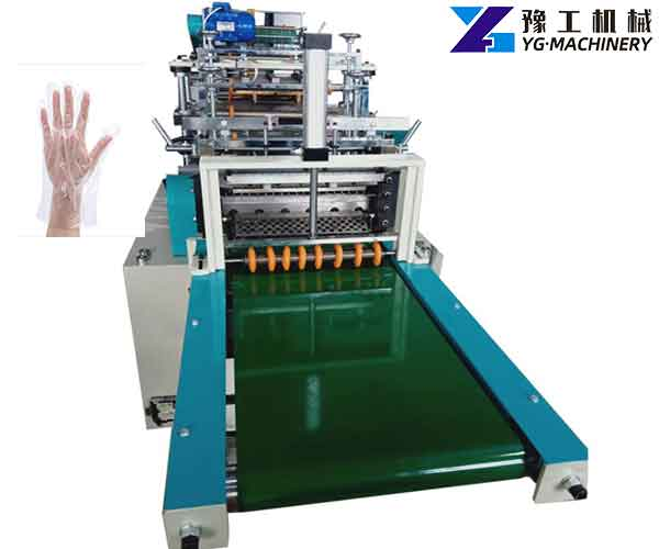 PE Plastic Glove Making Machine