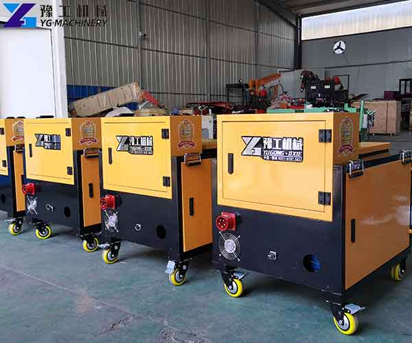 Non-curing Spraying Machine Manufacturer