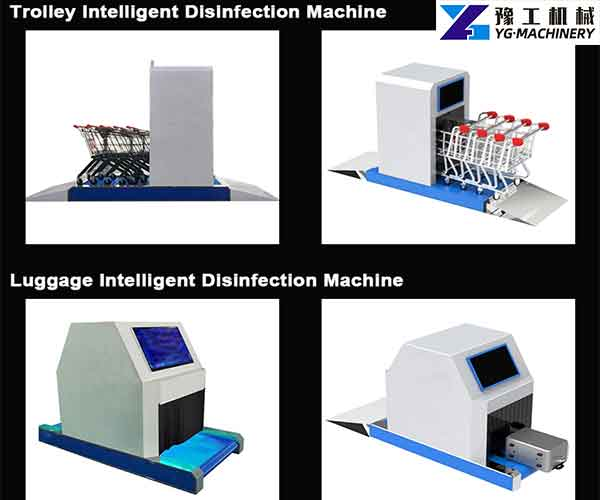 Airport trolley Sterilization Machine