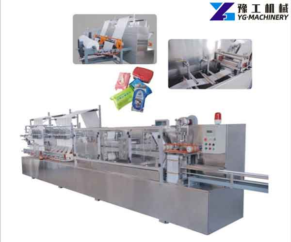 Wet Tissue Manufacturing Machine
