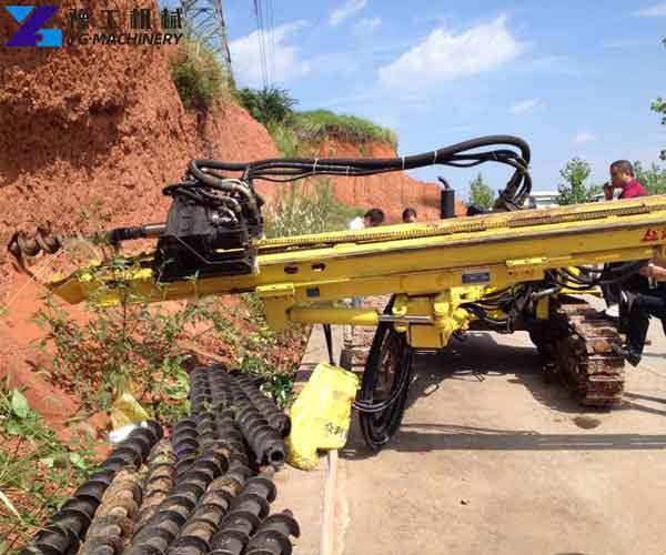 DTH Drilling Rig Application
