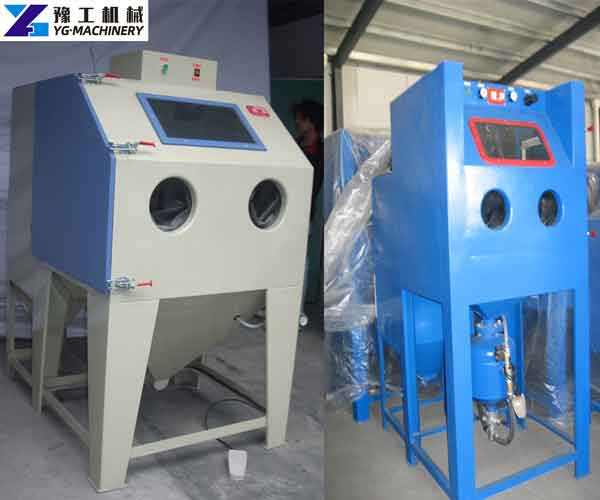 Dustless Sandblasting Machine