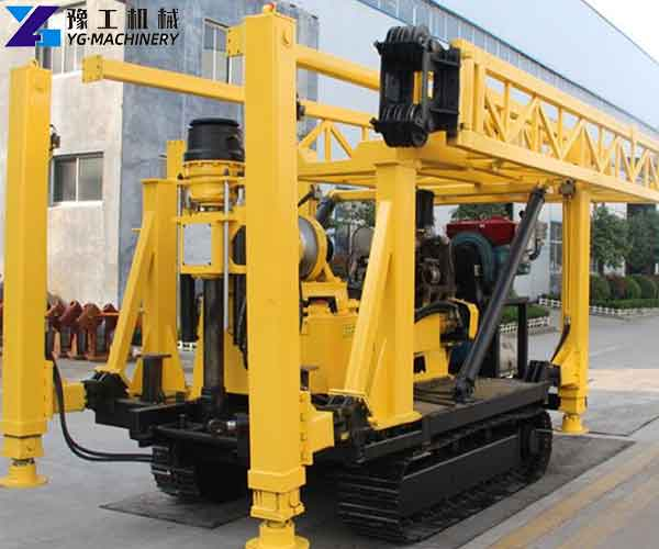 Hydraulic Water Well Drilling Rig Factory