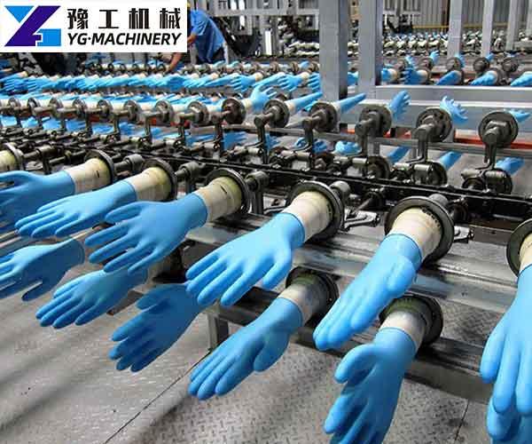 Medical Nitrile Glove Making Machine