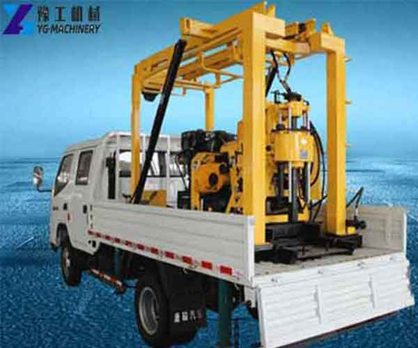 Vehicle-mounted Water Well Drilling Rig