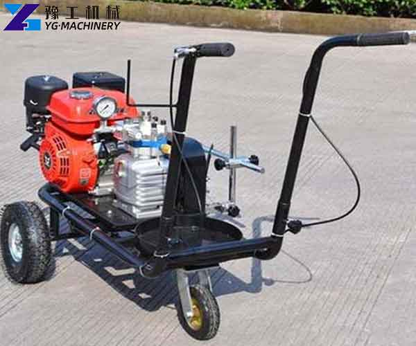 Cold spray Road Marking Machine