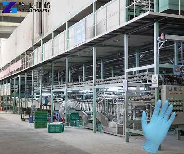Disposable Nitrile Gloves Machine