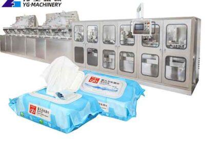 Wet Wipe Making Machine for Sale in Turkey