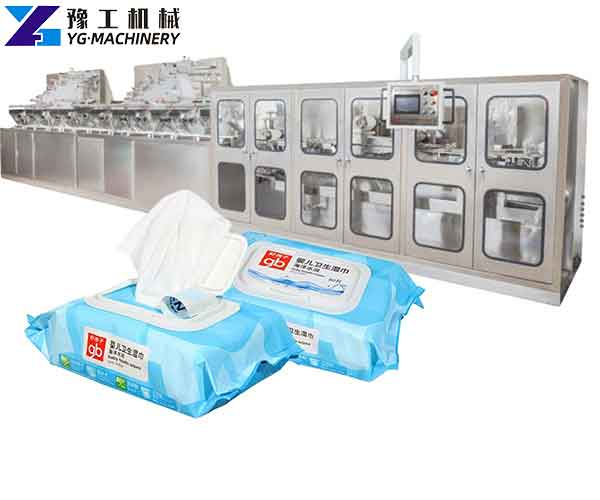 Baby Wipes Making Machine