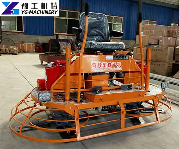 Concrete Power Trowel Machine