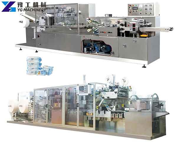 Wet Wipes Manufacturing Machine