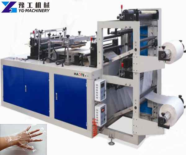 Disposable PE Glove Making Machine