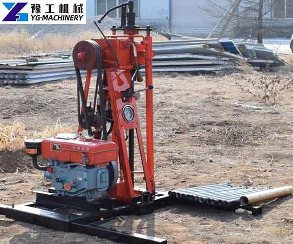 Core Drilling Rig Machine