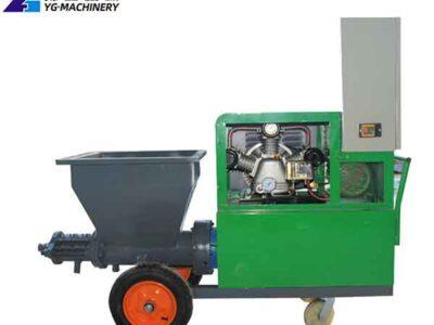 Concrete Spraying Machine Sold in the U.S.A