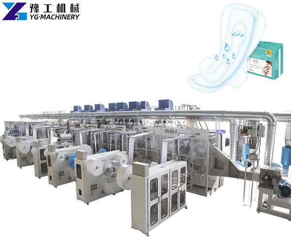 Automatic Sanitary Pad Making Machine